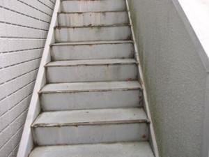 階段長尺シートビフォー