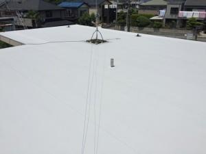 ハウスメーカー塩ビシート防水